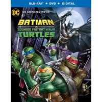 Batman Vs Teenage Mutant Ninja Turtles (Blu-Ray + DVD + Digital ) (2 Discs)