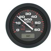 SeaStar Solutions Amega GPS Speedometer, 60 MPH