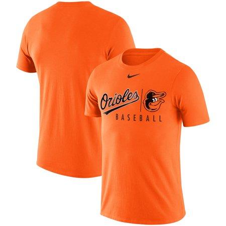 Baltimore Orioles Nike MLB Practice T-Shirt - Orange