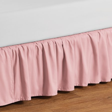 Your Zone Ruffled Microfiber Bed Skirt, Multiple Colors