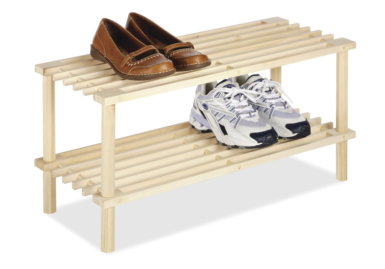 Whitmor 6026-3562 Natural Wood Household Shelves by Whitmor Inc