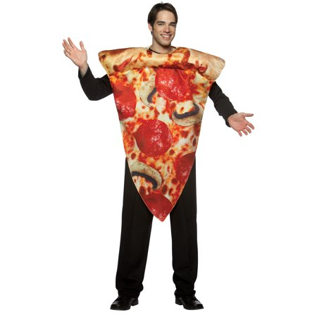 Pizza Slice Adult Halloween Costume - Mini Pizzas Halloween