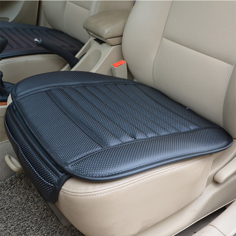 Auto Car Front Seat Cover Breathable PU Leather Pad Mat Chair Cushion Universal