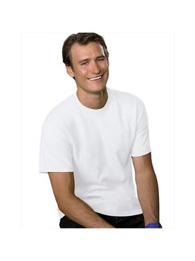 Hanes Men's and Big Men's ComfortSoft Short Sleeve Tee, Up To Size 4XL