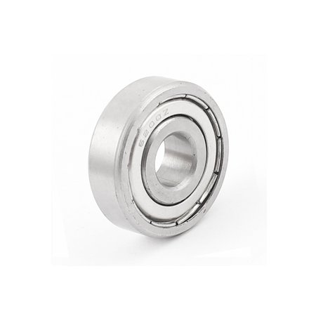White Knight Bearing (10x30x9mm Metal Deep Groove Guide Pulley Rail Ball Bearing Wheel 6200Z )