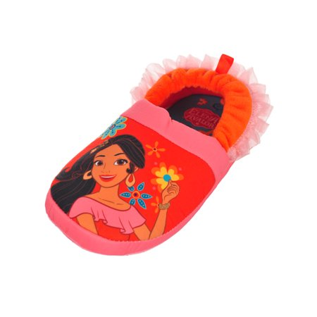 Disney Elena of Avalor Girls' Slippers (Sizes 7 - 12)](Disney Slippers)