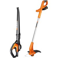 Worx 20-Volt 1.5-Amp MaxLithium 2-Piece Cordless Power Equipment Combo Kit - Manufacturer Refurbished