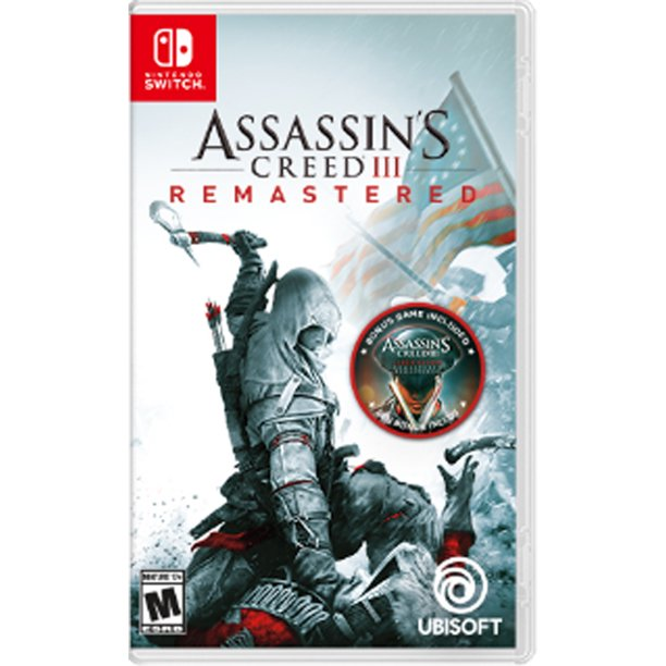 Assassin S Creed Iii Remastered Ubisoft Nintendo Switch