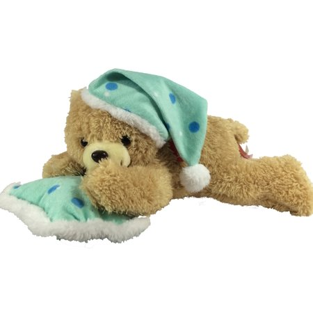 Pam Bear with Snoring Sound - Blue