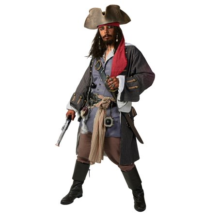 Realistic Caribbean Pirate Costume for $<!---->