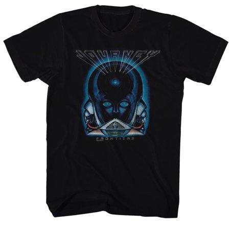 Journey Frontiers Album Guitar Cover Rock Band Adult T-Shirt Tee - image 1 de 1
