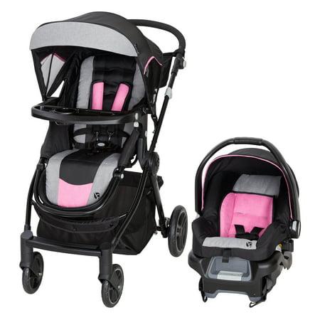 Baby Trend City Clicker Pro Travel System - Soho Pink