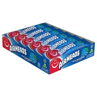 Airheads Candy Individually Wrapped Bars, Blue Raspberry, 36 Count