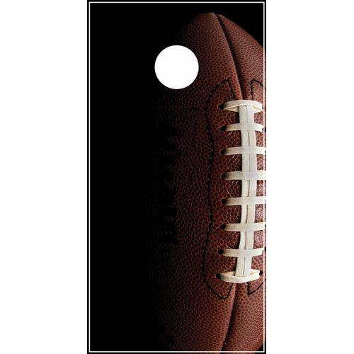 Lightning Cornhole Football Cornhole Board by