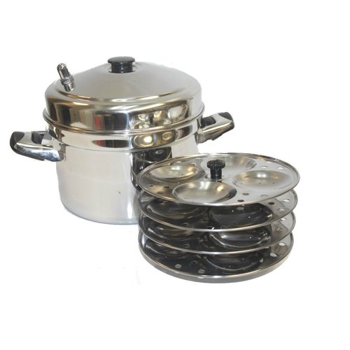 Supplier Generic Tabakh Ic - 204 4 - rack Stainless Steel Idli Cooker With