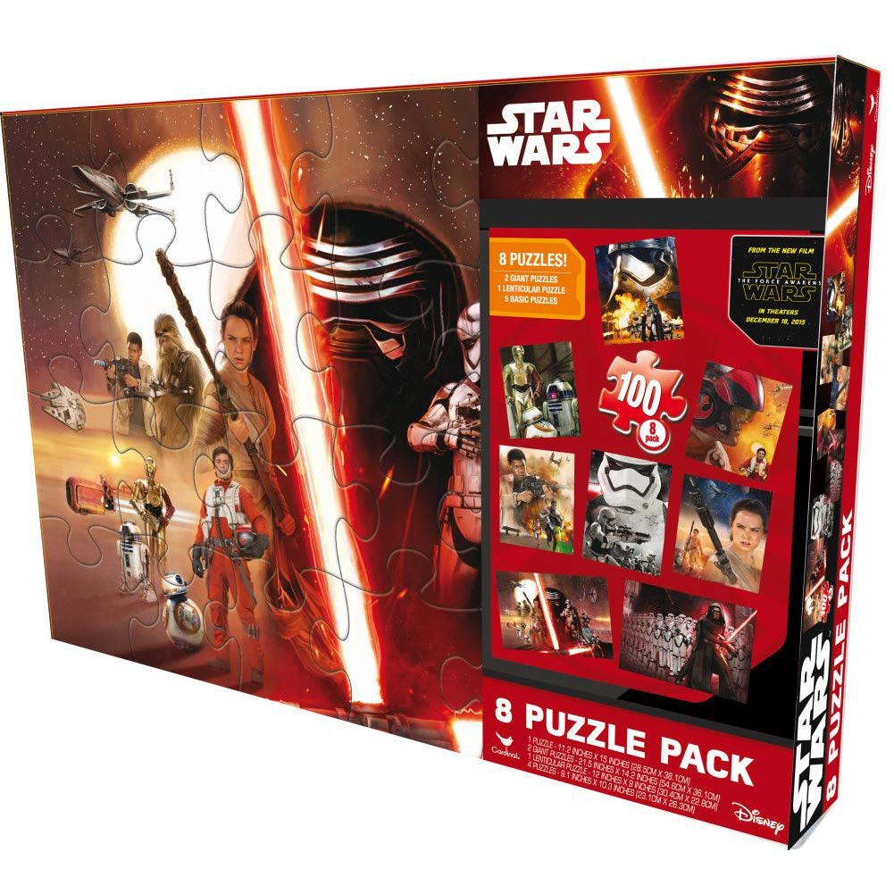 Star Wars Episode VII Puzzle Box,  Star Wars by Cardinal