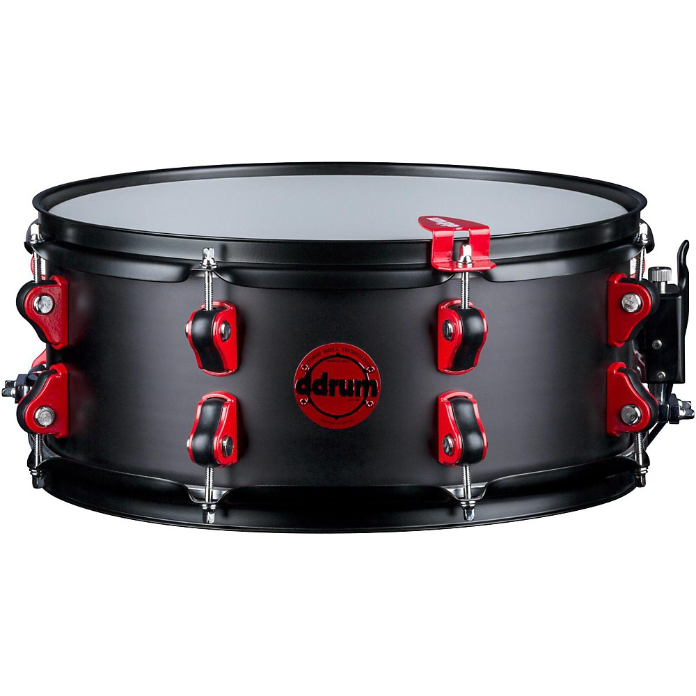 Ddrum Exclusive Hybrid Snare Drum with Trigger 14 x 6 in. Black Satin by ddrum