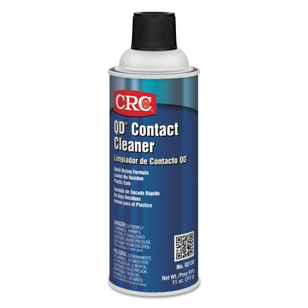 CRC QD Contact Cleaners, 11 oz Aerosol (Electronic Contact Cleaner)