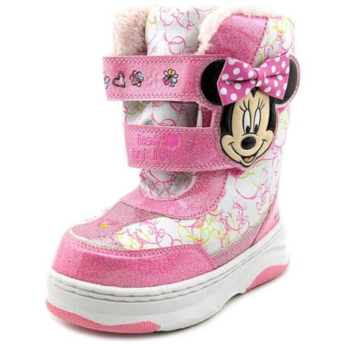 Disney Minnie Mouse Winter Boot Youth US 11 Pink Winter Boot