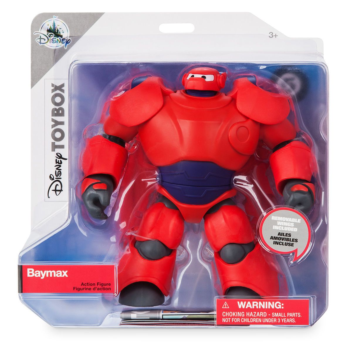 Disney Big Hero 6 Baymax Action Figure Toybox New with Box