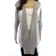 Valette NEW Gray Heather Solid Women's Size XS Cardigan Knit Sweater