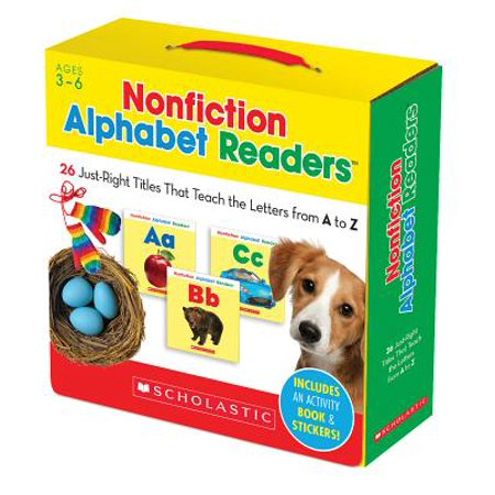 Nonfiction Alphabet Readers : 26 Just-Right Titles That Teach the Letters from A to Z - Baby Necessities From A To Z