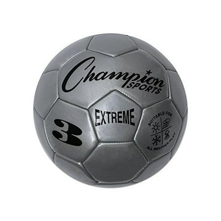 Soccer Ball Size4 Composite Silver - image 1 de 2