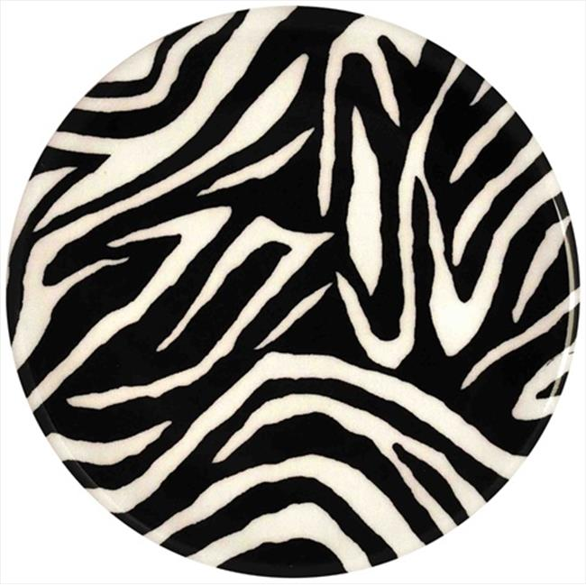 Andreas TRT-150 10 inch Zebra Round Silicone Trivet - Pack of 3
