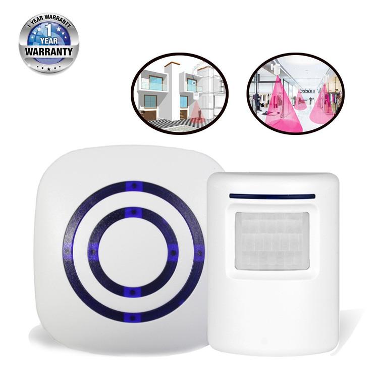 Bangde Home Security Alarm and Wireless Welcome Alert Door Bell Infrared Motion Sensor Alarm Chime  sc 1 st  Walmart & Bangde Home Security Alarm and Wireless Welcome Alert Door Bell ...