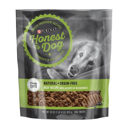 Honest To Dog Limited Ingredient, Grain Free Dog Treats; Crispy Cuts Beef Recipe - 30 oz. - Halloween Recipes Treats