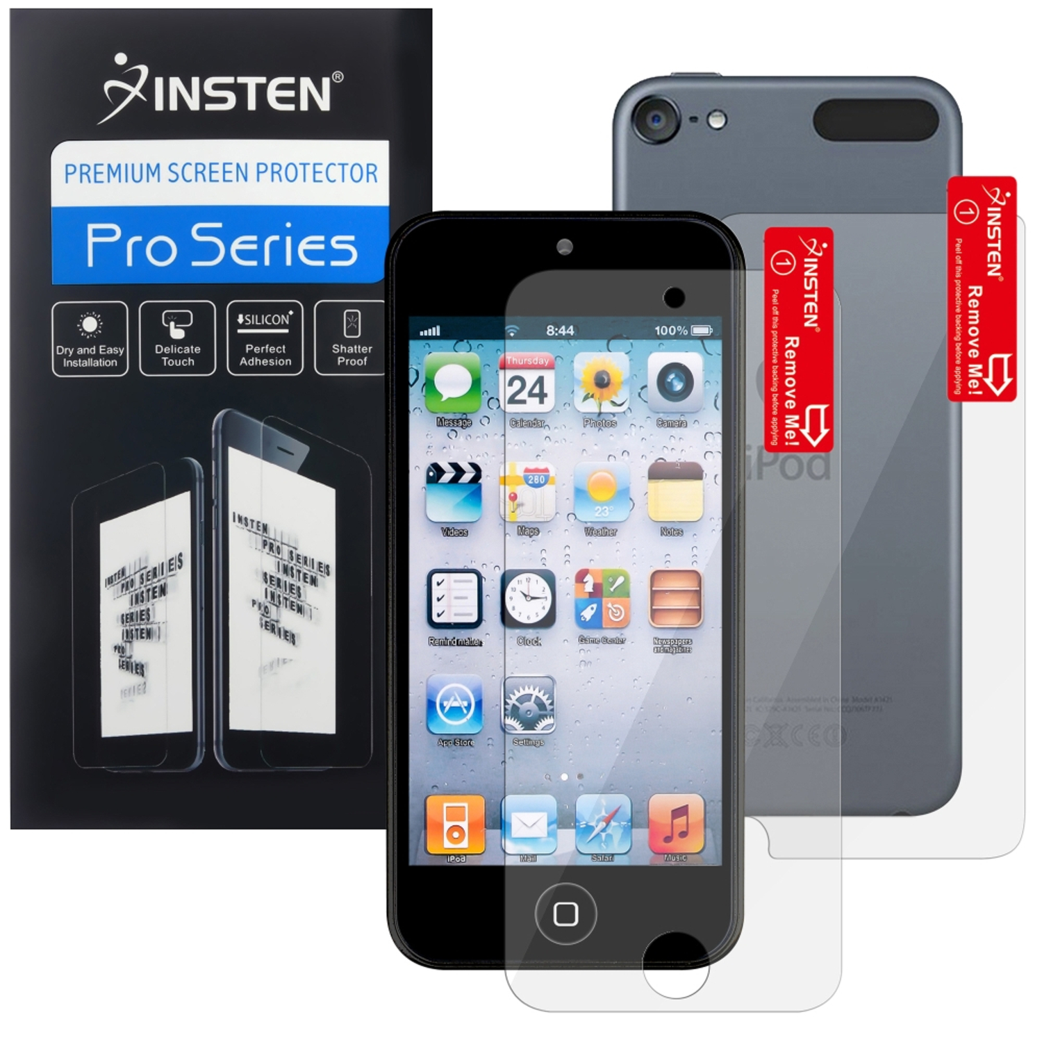 Insten 2-LCD Kit Screen Protector For Apple iPod touch 6th 5th Generation