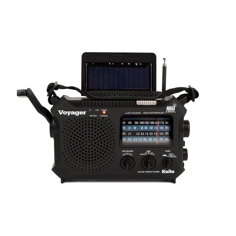 Kaito KA500 Voyager 5-Way Emergency Radio by Kaito