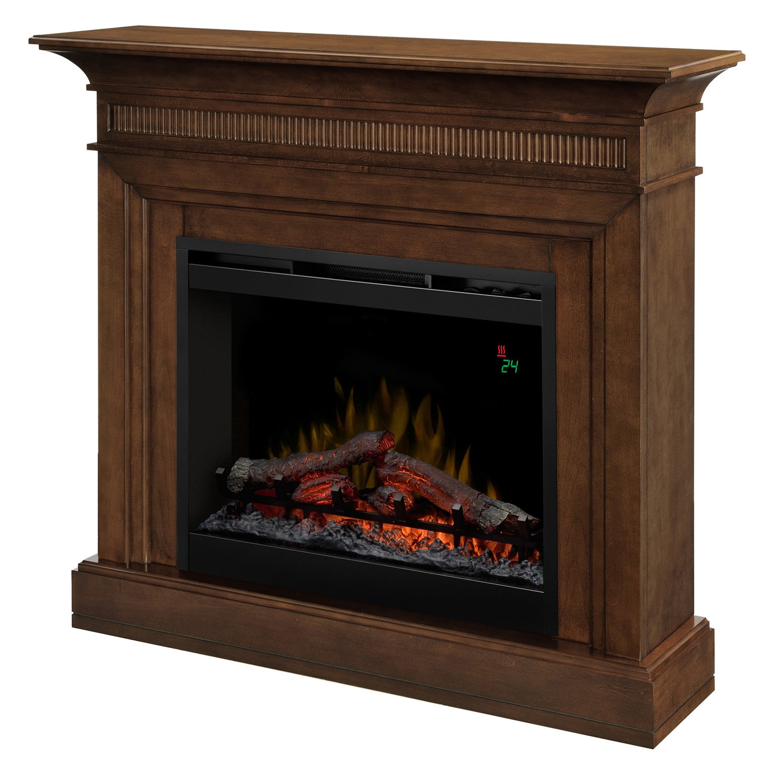 Dimplex Harleigh Walnut Electric Fireplace by Glen Dimplex Group