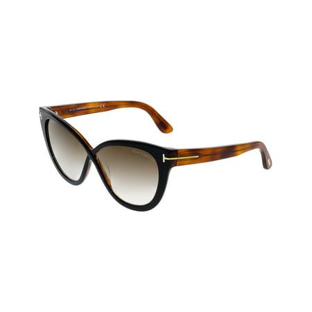 9b6861c2e99 Tom Ford - Tom Ford Women's Arabella FT0511-05G-59 Black Cat Eye ...