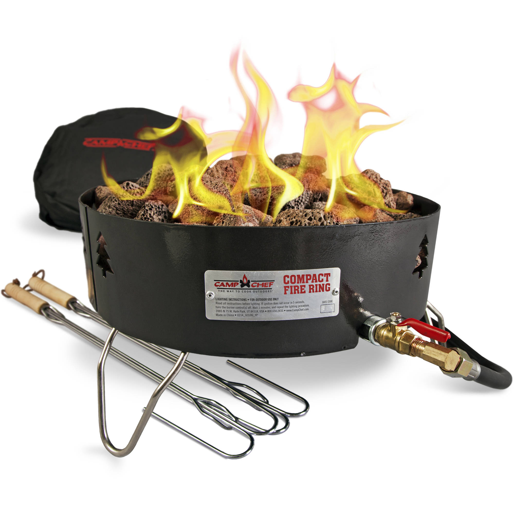 Camp Chef Campfire Pit Portable Outdoor Propane Fire Pit