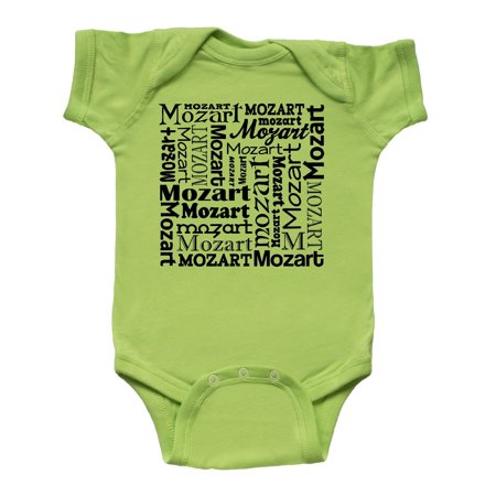 Mozart Gift Idea Infant Creeper (Infant Theme Ideas)