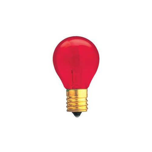 Bulbrite Industries Specialty 10W Transparent Red String Replacement Light Bulb by Bulbrite Industries