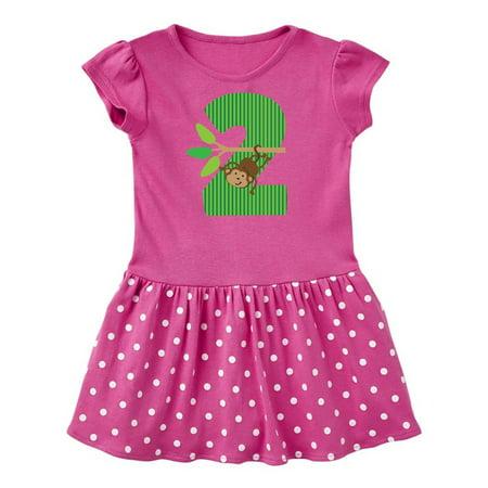 Jungle Dress For Kids (2nd Birthday Jungle Monkey Childs Toddler)