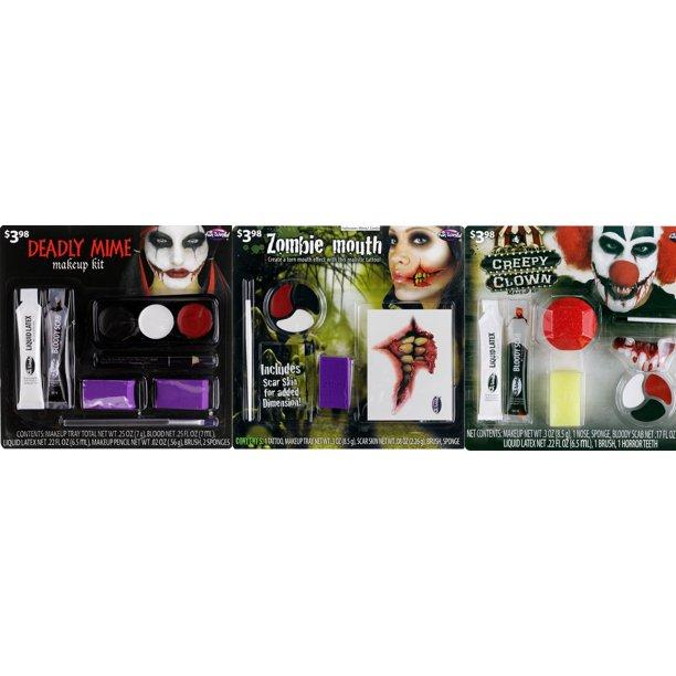 Clown Tattoo Makeup Kit By Fun