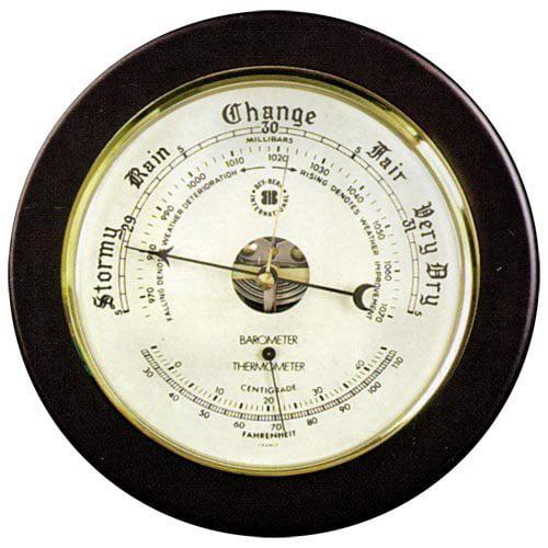 Keota Barometer and Thermometer