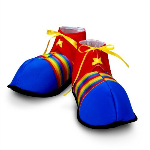 Jumbo Clown Shoes - Costumes & Accessories & Props & Kits