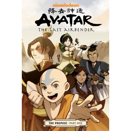 Avatar: The Last Airbender - The Promise Part 1 - eBook](The Last Airbender Staff)