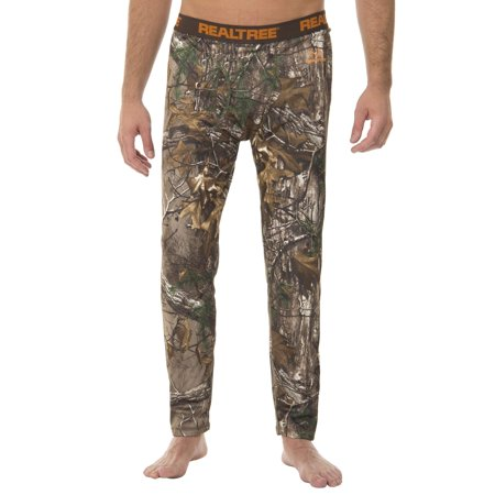 219f144c36936 Realtree Mens Heavy Weight Performance Fleece Thermal Bottom