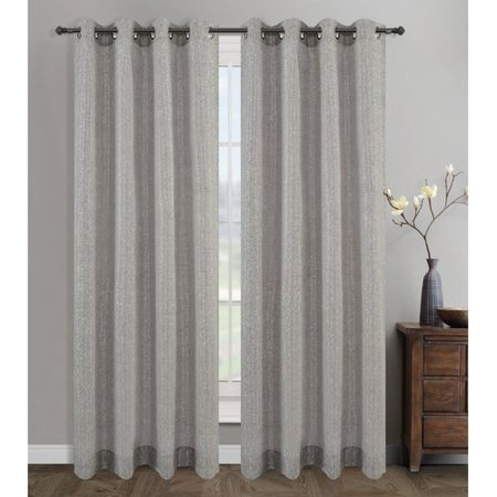 Urbanest Cosmo Semi-Opaque Grommet/Eyelet Curtain Panel Pair (Set of