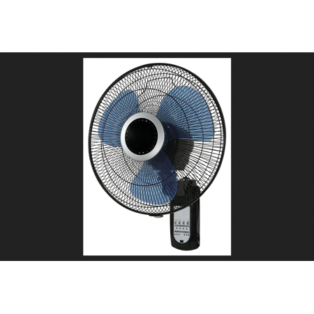 Pelonis Wall Mount Fan 23 in. H x 16 in. Dia. 3 speed Oscillating Electric 3 blade