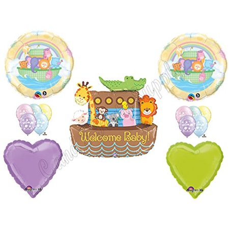 Noahs Ark Baby Shower Tea - NOAH'S ARK WELCOME BABY SHOWER Balloons Decorations Supplies Duck