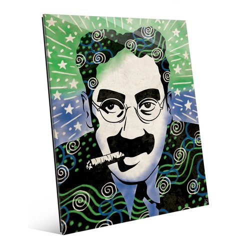 Latitude Run 'Wild Groucho Marx' Graphic Art Print