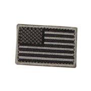 US Flag Patch Color- Foliage (6 Pack)