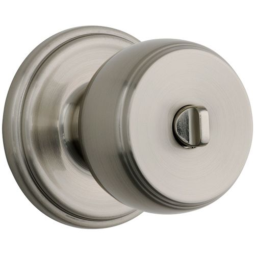 Brinks C23022-12 Ganyon Privacy Door Knob Set with Push Pull Rotate Functionalit