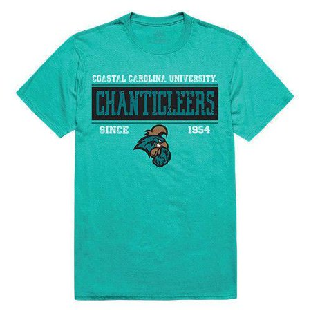Carolina University Car (Coastal Carolina University Chanticleers Team NCAA Unisex Tee Shirt T-Shirt )